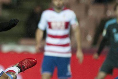Con gol de Vela desciende el Granada de Ochoa