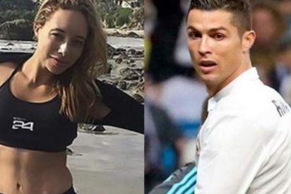 Cristiano Ronaldo corre más rápido gracias a esta estupenda rubia