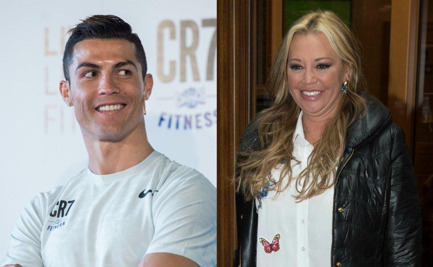 El acadabrante mensaje del cachas Cristiano Ronaldo a la hincha Belén Esteban