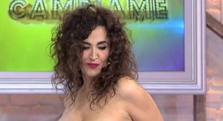 El Descarado Striptease De Cristina Rodriguez En Cambiame