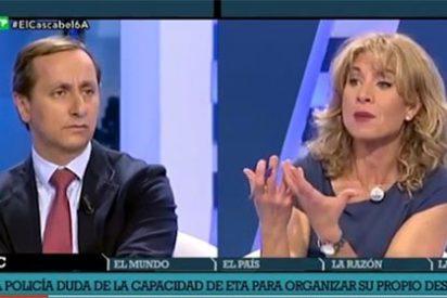 Paliza de Cuesta a Llarandi por defender la foto de la vergüenza con ETA