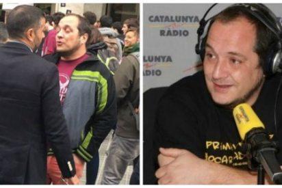El ideólogo del ataque a la sede del PP es un tertuliano estrella de Catalunya Radio