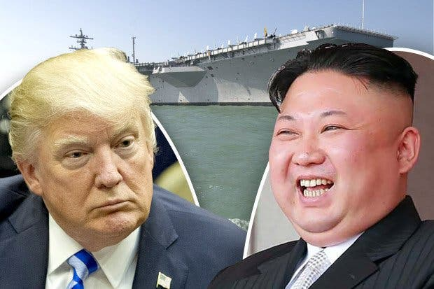 La flota que Donald Trump dijo haber enviado a Corea del Norte ¡navegaba en dirección contraria!