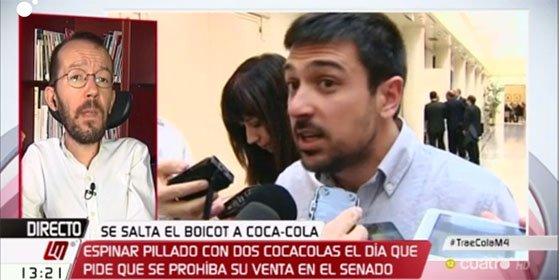 """'Echeminga', que te falla la memoria: """"Sólo pueden sacarnos la Coca-Cola de Espinar"""""""