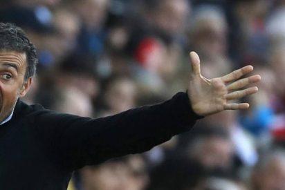 El broncazo más bestia de Luis Enrique con tres cracks del Barça liquida a un amigo de Messi