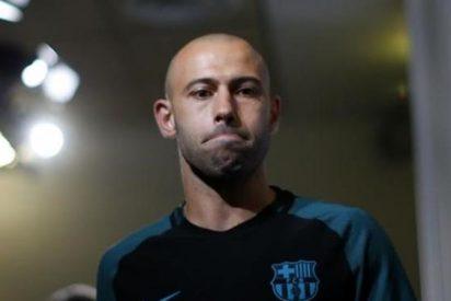 El 'chitavazo' que fulmina a Mascherano en el Barça, desvela su destino... y también su relevo