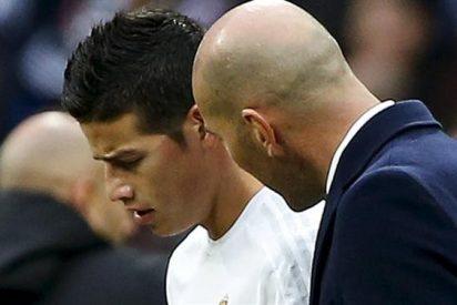 El 'chivatazo' sobre Zidane y James Rodríguez que no va a gustarle nada al colombiano
