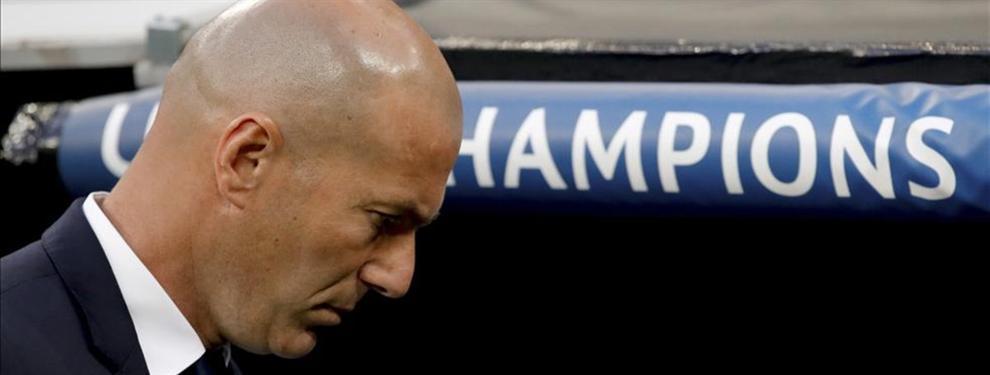 El crack del Real Madrid que lincha a Zidane con una rajada de libro y un 'yo me largo' final