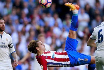 El cruce de mensajes entre jugadores de Madrid y Atlético (con Griezmann de por medio)
