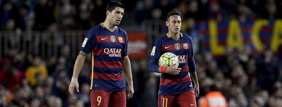 El delantero centro que quiere el Barça para cargarse a Luis Suárez