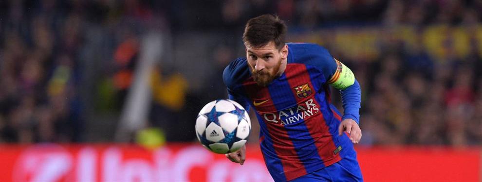 El fichaje galáctico del Barça que está a la espera del visto bueno de Leo Messi