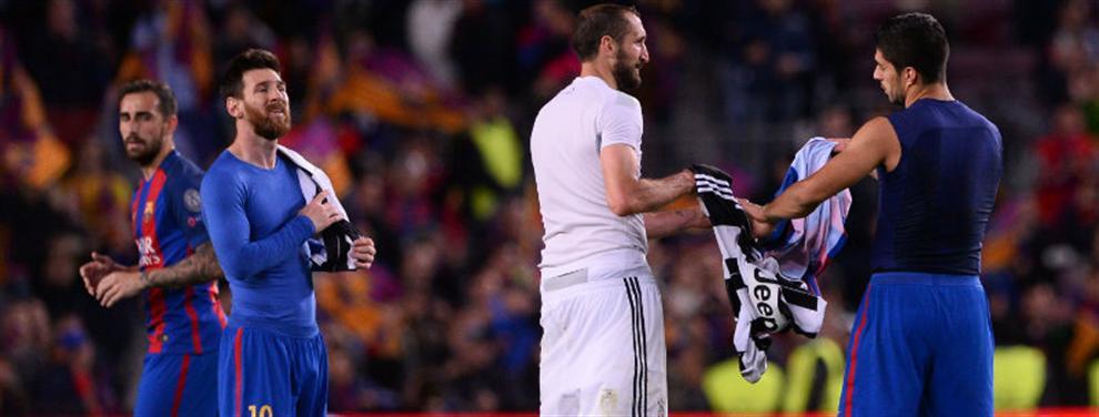 El jugador de Juventus que recibió un cachetazo por pedirle la camiseta a Messi