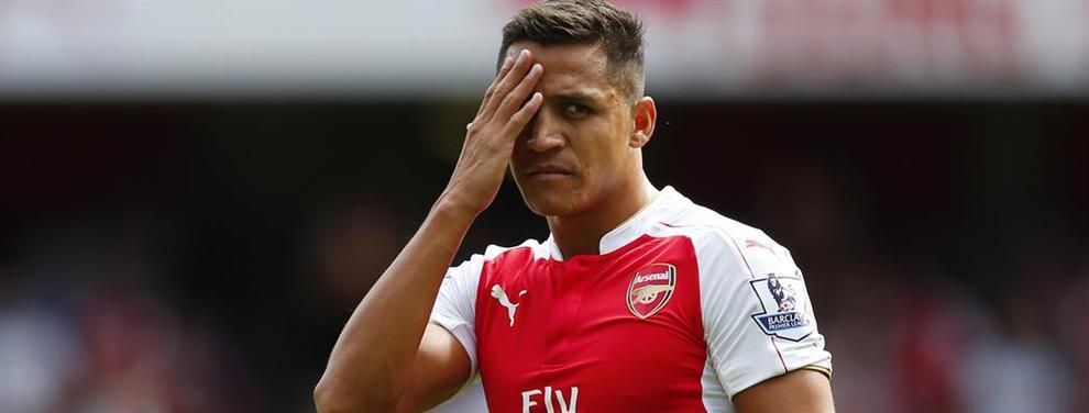 El ultimátum del Arsenal a Alexis Sánchez incluye una imposición 'bestial'