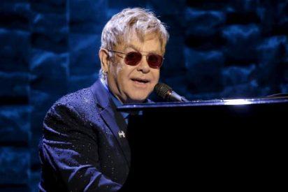 Elton John y los Beckham celebran su relación de amistad por todo lo alto