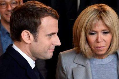 La sorprendente historia de amor de Emmanuel Macron y su esposa Brigitte