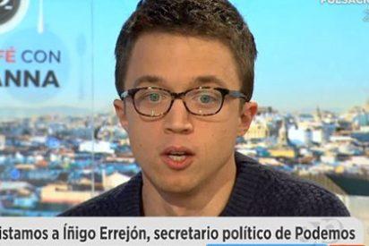 """Iñigo Errejón confiesa ser merengue: """"Se puede ser del Real Madrid y de izquierdas"""""""