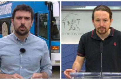 El 'zasca' de C'S que deja sin gas al 'cocacolero' Espinar y al 'autobusero' Iglesias