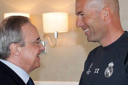 Florentino Pérez cierra el primer fichaje galáctico del Real Madrid de Zidane (y ya tiene dorsal)