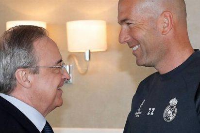 Florentino Pérez cierra un cambio de cromos para el Madrid (y pone un intocable de Zidane en venta)
