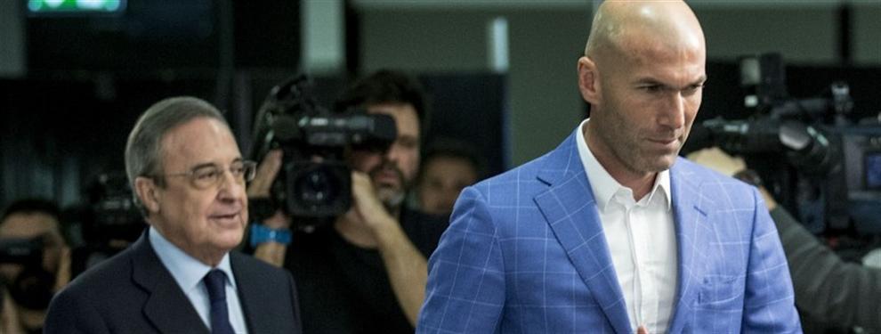 Florentino Pérez ya se ha visto con el candidato favorito para sustituir a Zidane