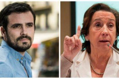 El 'heteropatriarca' Garzón lanza a la turba podemita contra Victoria Prego