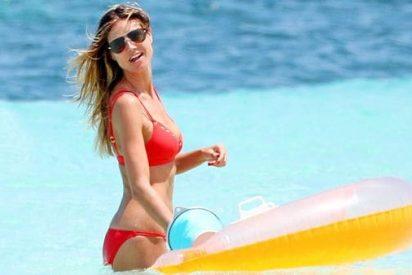 Heidi Klum presume de su escultural cuerpo en bikini a sus espléndidos 43 años