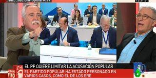 """Salvaje bronca entre Henares y Sardá: """"¡No me vengas con sandeces!"""""""