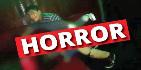 El vídeo del depravado que viola a una mujer inconsciente en la discoteca ¡animado por los clientes!