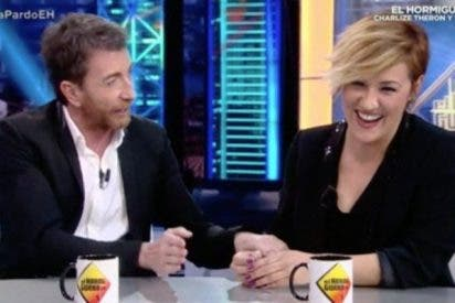 Cristina Pardo pega una patada al 'Hormiguero' y desvela que es igual de alta que Pablo Motos