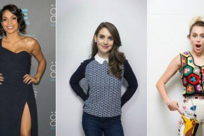 Salen a la luz fotos comprometidas de Miley Cyrus, Kate Hudson, Alison Brie y Rosario Dawson