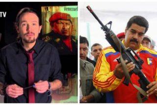 Venezolanos residentes en Madrid se manifiestan contra el tirano Nicolás Maduro