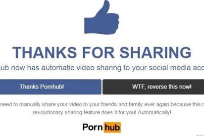 Pornhub casi provoca un infarto a sus calientes usuarios