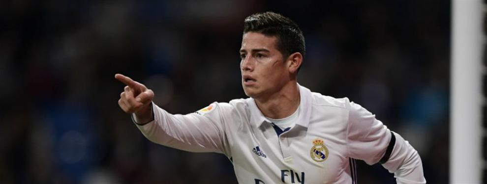 James tiene la llave de un fichaje colombiano para la Liga española (pero no para el Real Madrid)