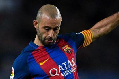 Javier Mascherano armó un problema terrible en el Barcelona