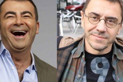 "Jorge Javier Vázquez humilla a Juan Carlos Monedero al tacharle de simple ""tertuliano de relleno"""