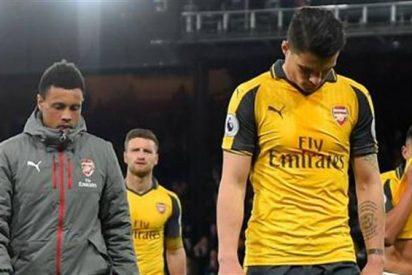 """Jugadores """"cobardes"""" y Wenger sentenciado: estalla el incendio definitivo en el Arsenal"""