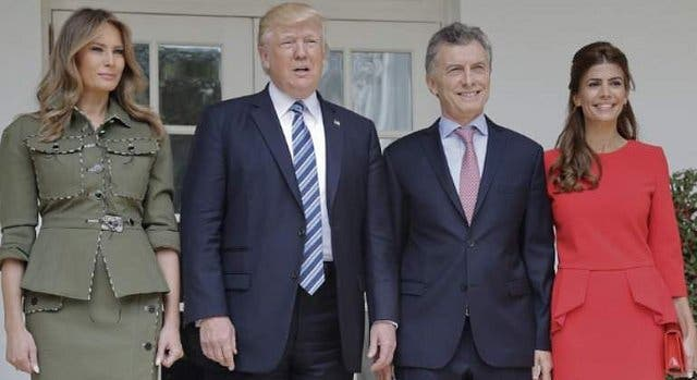 Juliana Awada se 'merienda' a Melania Trump en la Casa Blanca