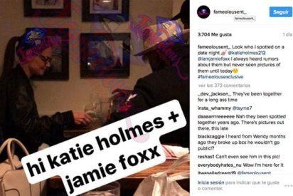 ¡Ya es oficial!: Katie Holmes, ex de Tom Cruise, sale con Jamie Foxx