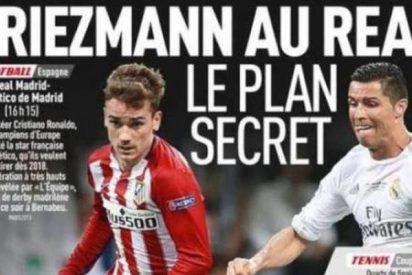 El diario 'L'Equipe' coloca ya a Griezmann al Real Madrid y da todas las claves