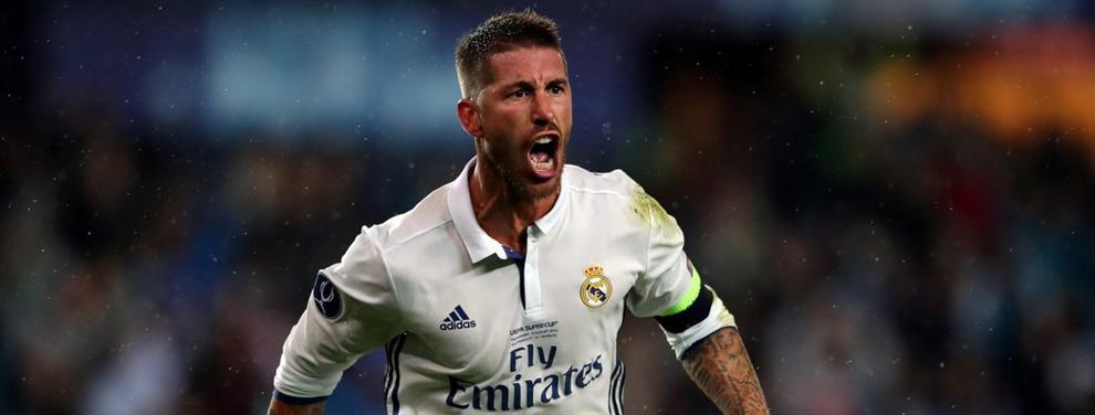 La bronca de Sergio Ramos que revoluciona al vestuario del Real Madrid