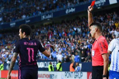 La expulsión de Neymar provocó el enfado en el vestuario del Barça (con Messi de por medio)
