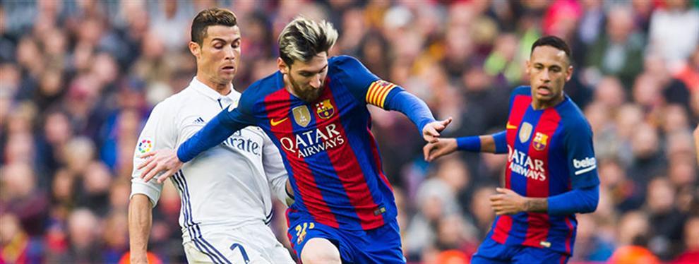 La jugada más rastrera del Barça para liquidar al Real Madrid (y Messi a Cristiano Ronaldo)