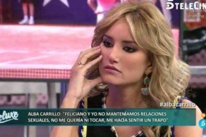 Alba Carrillo da a entender que va a tener sexo en 'Supervivientes'