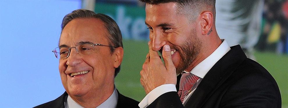 La negociación secreta de Florentino Pérez y Sergio Ramos para captar un fichaje para el Madrid