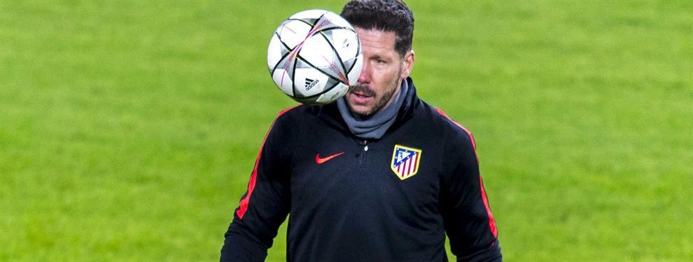 La oferta de locura de un grande de Europa para sacar al Cholo Simeone del Atlético de Madrid