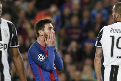La reacción más bestia de Messi tras caer ante la Juventus (con 'recadito' a Cristiano Ronaldo)