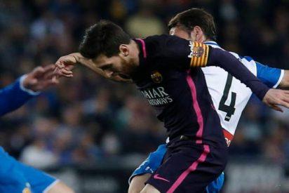 La reacción más contundente de Messi tras la victoria ante el Espanyol