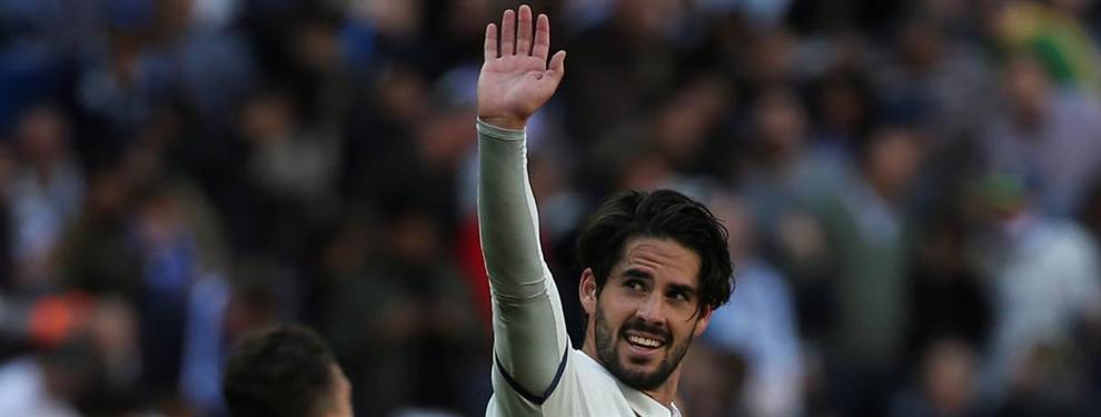 La renovación de Isco abre en canal al vestuario del Real Madrid: celos, envidias y puñaladas