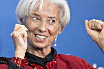 Christine Lagarde: El FMI mejora sus previsiones para España tres décimas y vaticina que crecerá un 2,6%