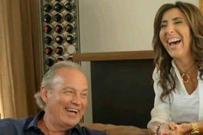 Telecinco: Bertín Osborne deja en 'bragas' a Paz Padilla
